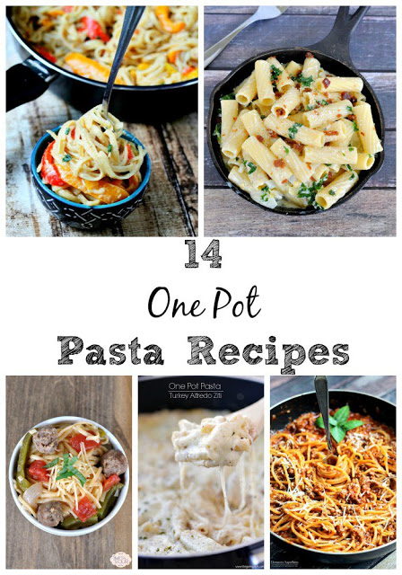 14 One Pot Pasta Recipes