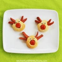 Christmas Reindeer Hot Dogs