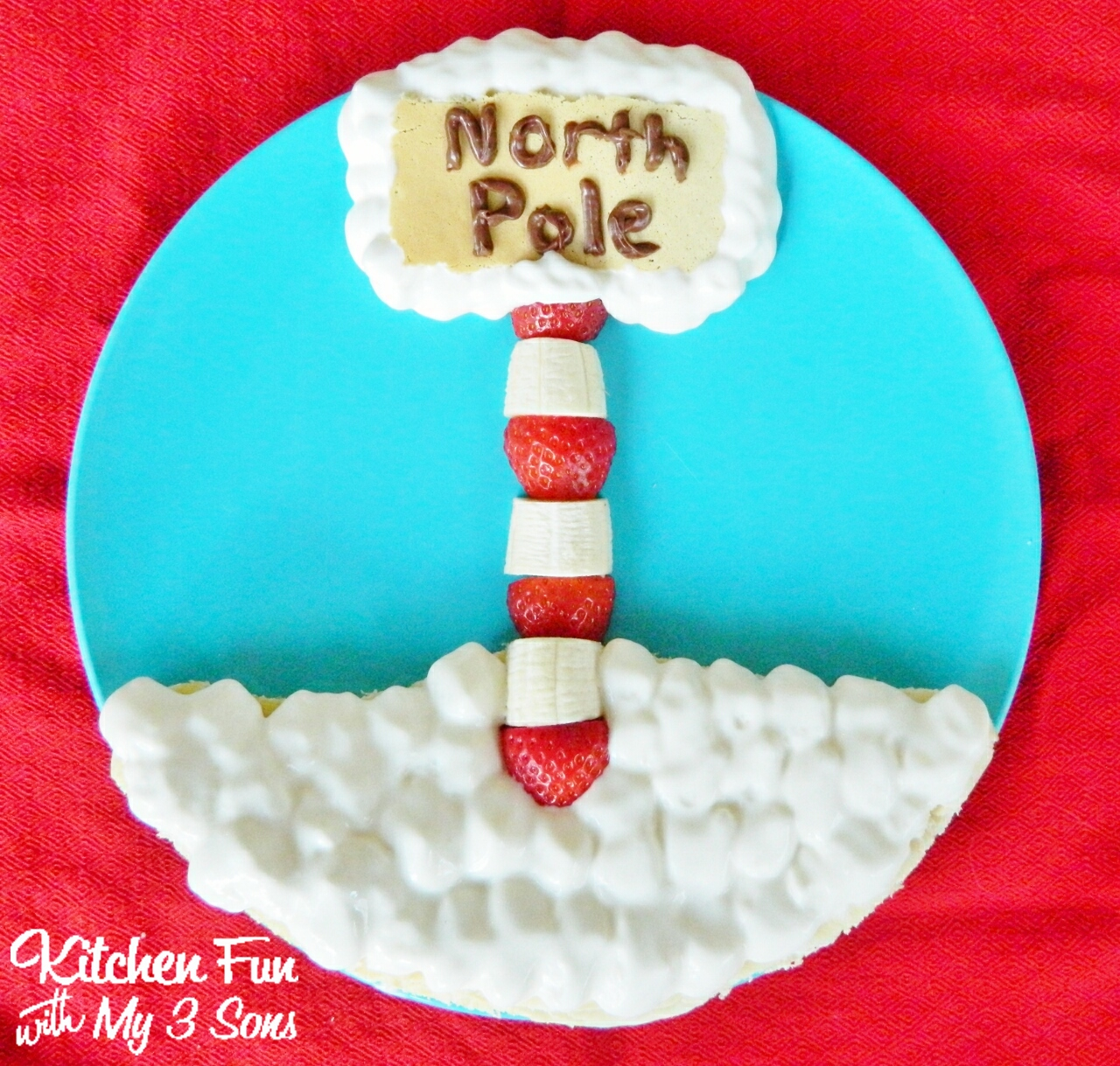 Christmas North Pole Cheese Stick Snacks With A Free