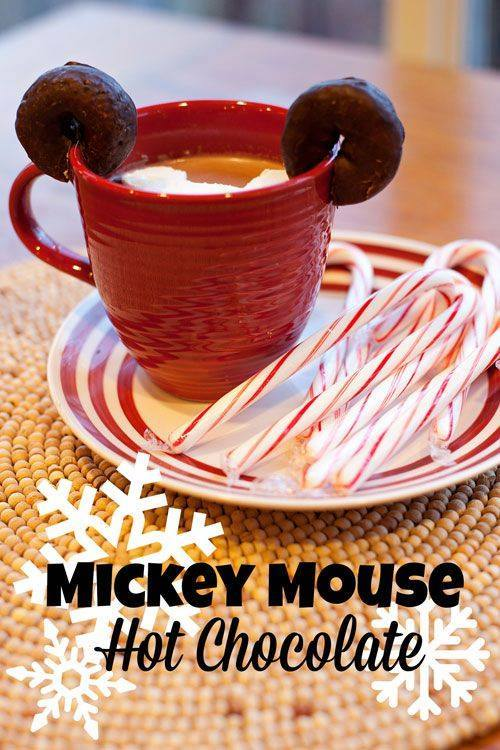 Mickey Mouse Hot Cocoa
