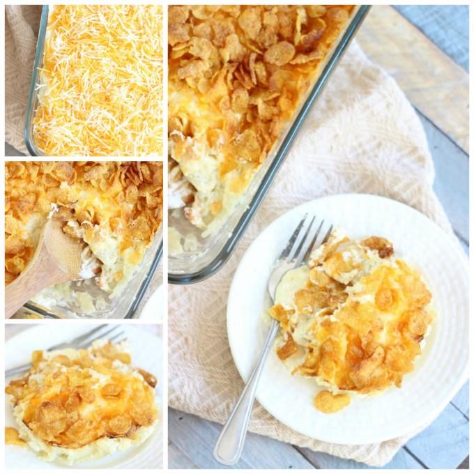 Grandmas Cheesy Potato Casserole