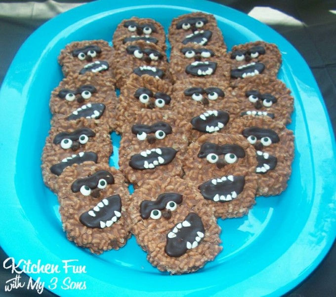 Star Wars Chewbacca Chewie Wookiee Cookies