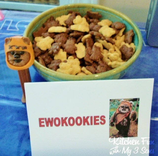 Star Wars Ewok Cookies