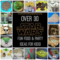 Star Wars Fun Food & Party Ideas from KitchenFunWithMy3Sons.com