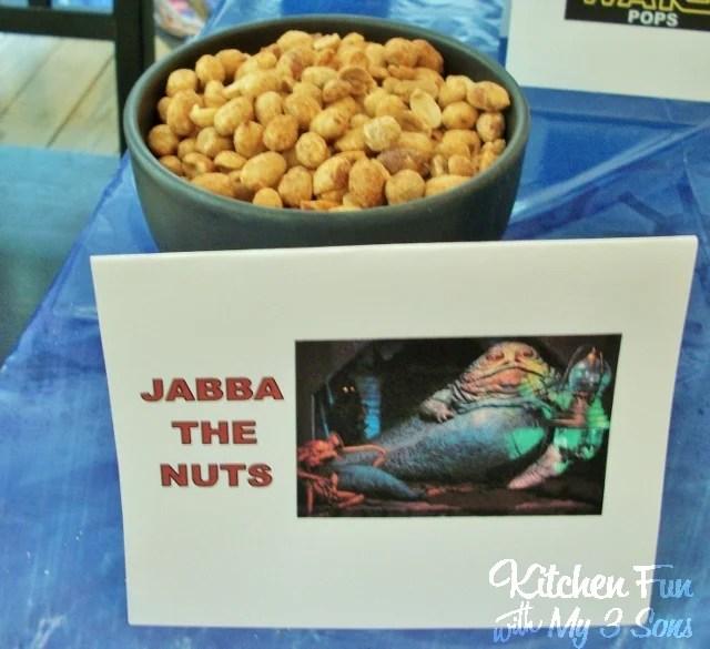 Star Wars Jabba the Hut Nuts