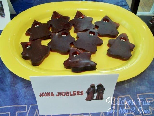 Star Wars Jawa Jello Jigglers