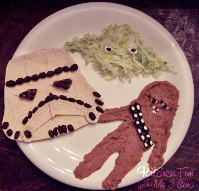 Star Wars Mexican Dinner for Kids