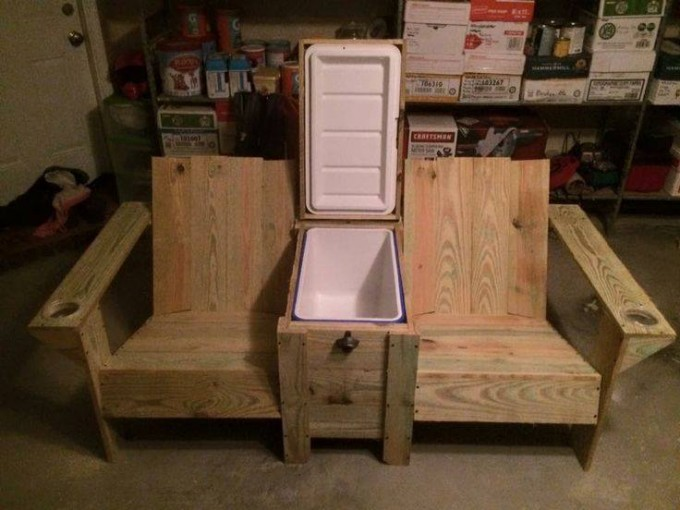 beach chairs with cup holders massage recliner chair the best diy wood & pallet ideas - kitchen fun my 3 sons