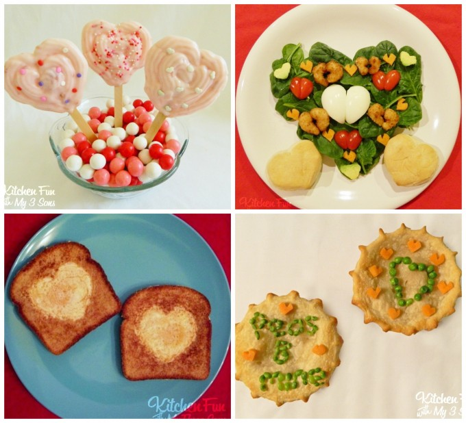 Valentine's Day Healthy Fun Food Ideas for Kids!