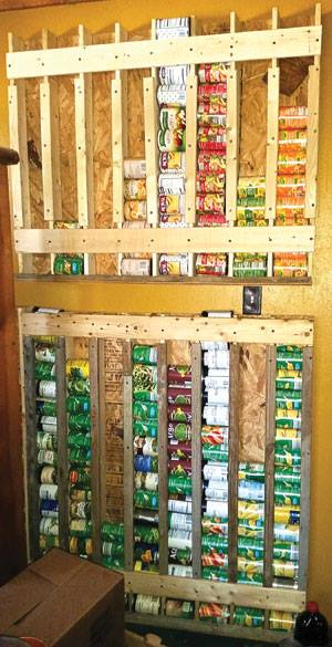 How to build a Vertical Storage Rack for Cans...these are the BEST Home Organizing ideas!