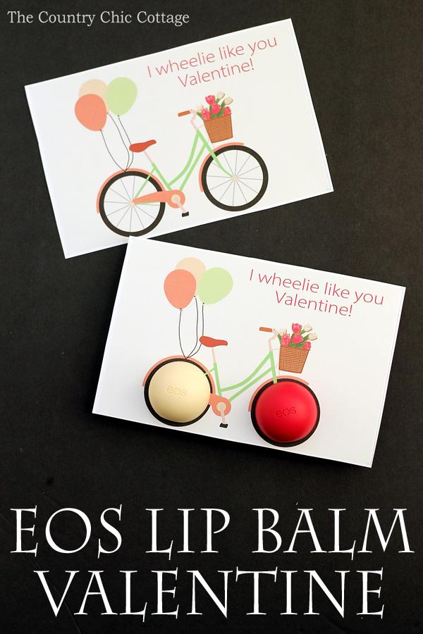 EOS Lip Balm Bike Valentine