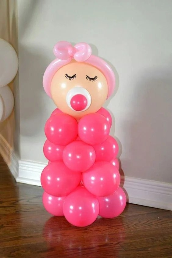 Baby Balloons for a Baby Shower!