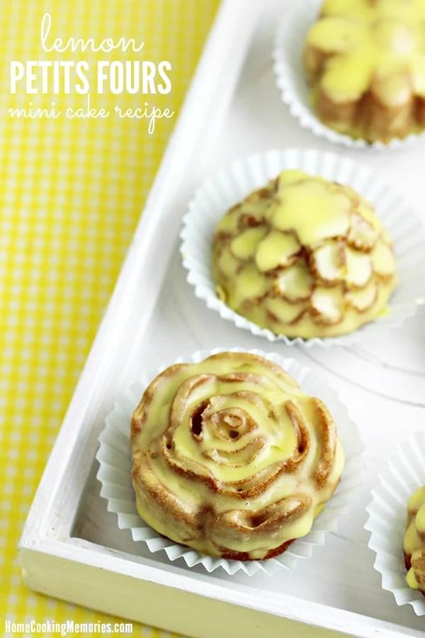 Lemon Petite Fours