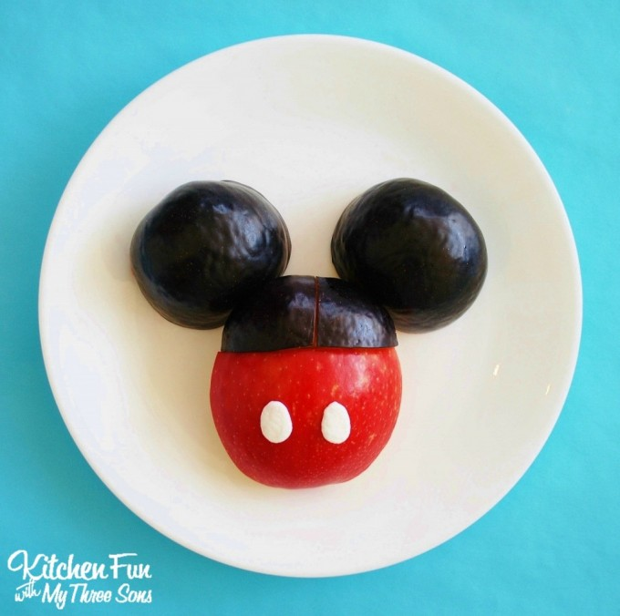 Mickey Mouse Fruit Snack