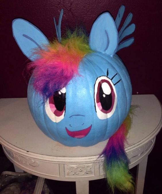 My Little Pony Pumpkin
