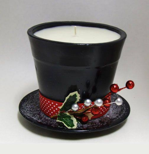 Frosty the Snowman Candle