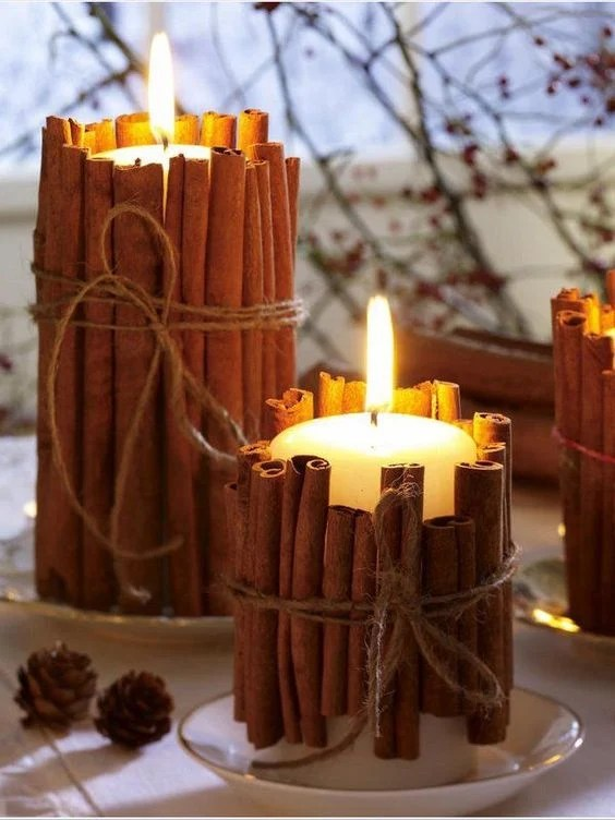 Image result for kids diy fall candle crafts