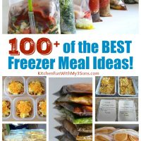 Over 100 of the BEST Freezer Meal Ideas!