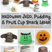 Halloween Jello Cups