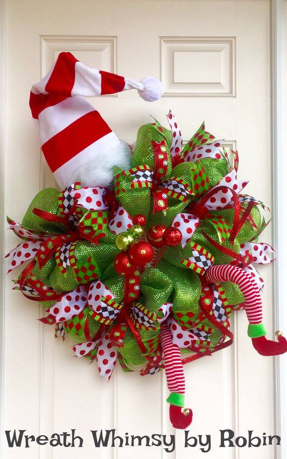 christmas wreath decorating contest ideas