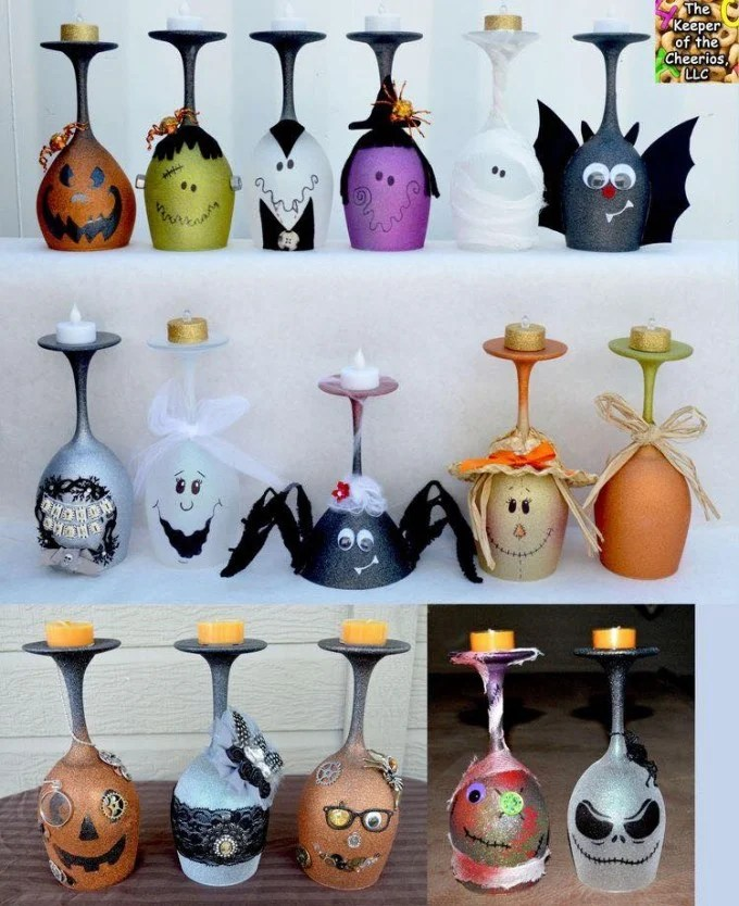 40 Homemade Halloween Decorations! Kitchen Fun With My 3 Sons