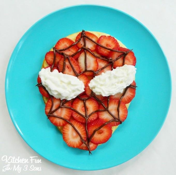 Spider-Man Pancakes