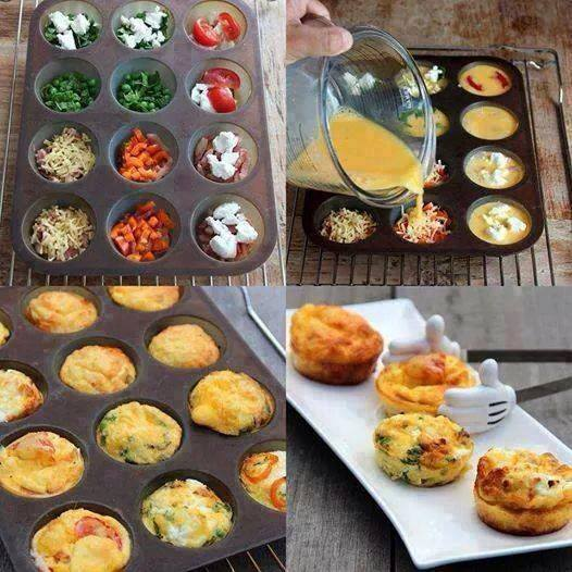 Breakfast Egg Muffins...these are the BEST Muffin tin Ideas!