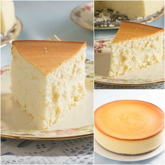 New York Creamy Cheesecake...these are the BEST Cake Ideas!