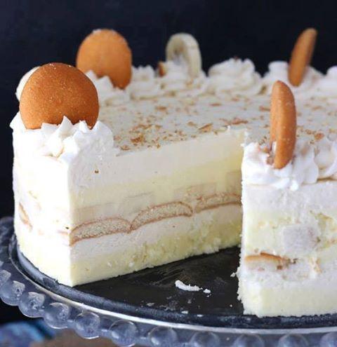 No-Bake Banana Pudding Ice Box Cake...these are the BEST Cake Recipes!