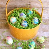 Whipped Cream Dyed Eggs - for Easter (Video)