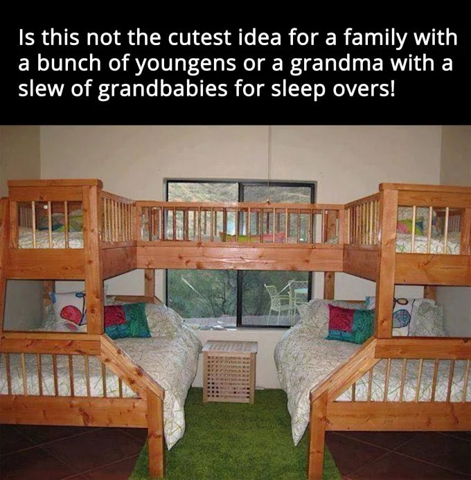 Bunk Bed for Small Spaces...these are the BEST Bunk Bed ideas!