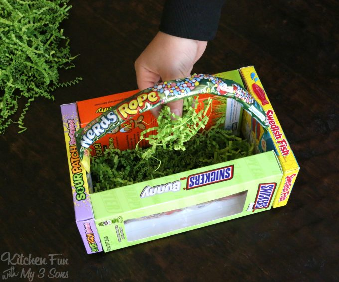 How To Make A Candy Box Easter Basket