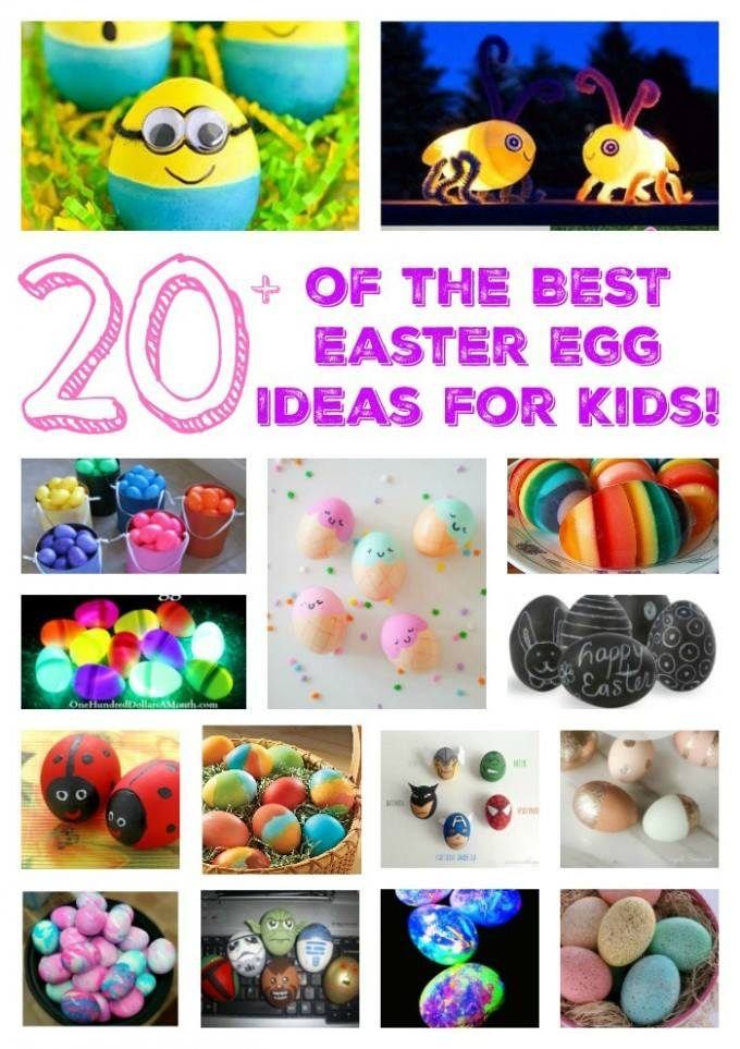 Easter Egg Ideas for Kids