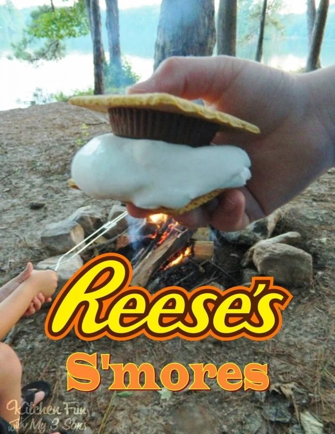 Reese's S'mores...these are the BEST Camping Recipes!