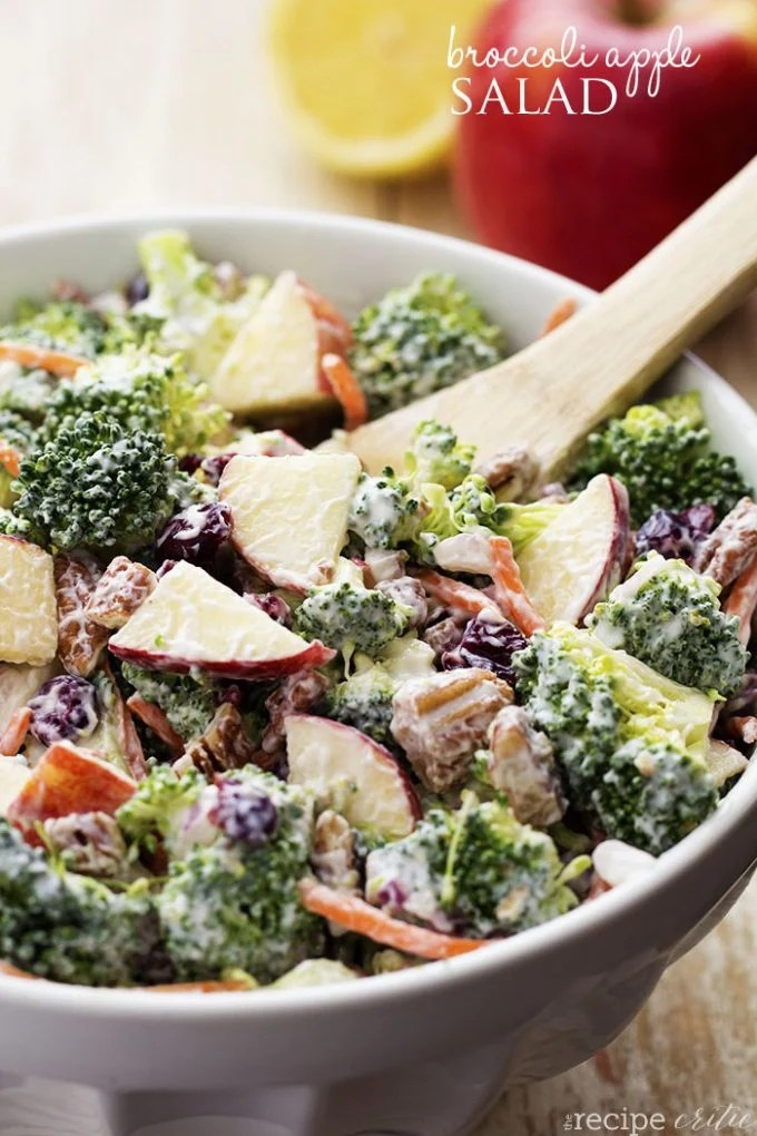 Broccoli Apple Salad...these are the BEST Salad Recipes!
