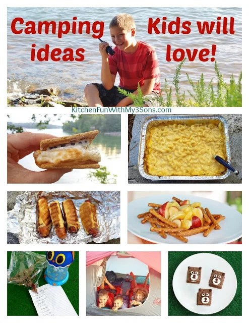 Camping Ideas Kids will Love!