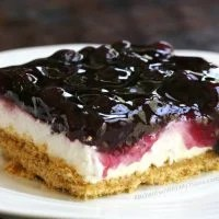 Lemon Blueberry Cheesecake Dessert