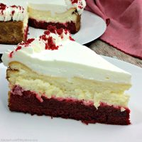 The Best Red Velvet Cheesecake {Video}