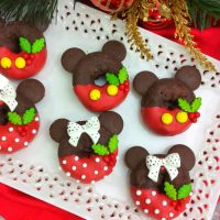Minnie and Mickey Mouse Donuts