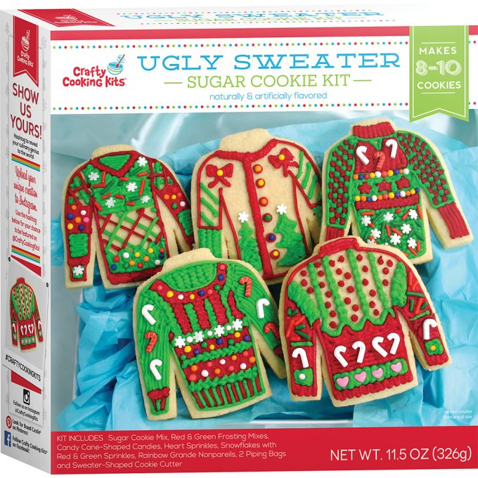 The BEST Ugly Christmas Sweater cookies and party ideas!