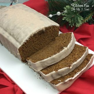 Gingerbread Loaf with Cinnamon Frosting