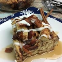 Bacon French Toast Casserole
