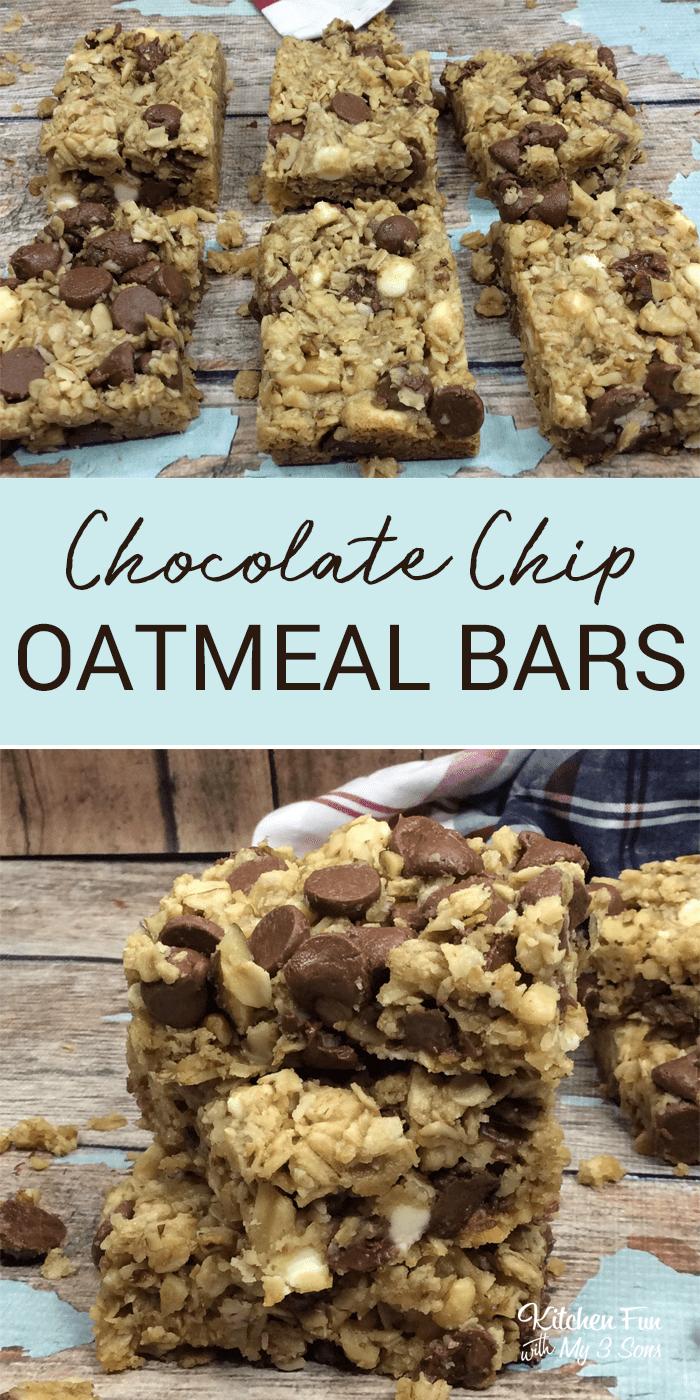 Oatmeal Chocolate Chip Bars