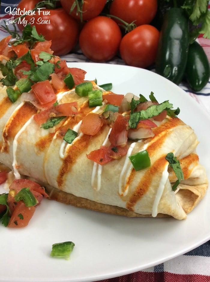 "Air Fryer Chimichangas. Rotisserie chicken and the air fryer make these ""grilled"" chimichangas a quick weeknight dinner."