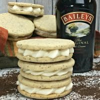 Baileys Irish Cream Coffee Cookies