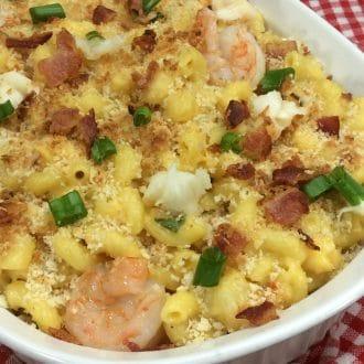 Seafood Macaroni & Cheese