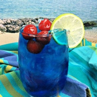 Blue Ocean Cocktail