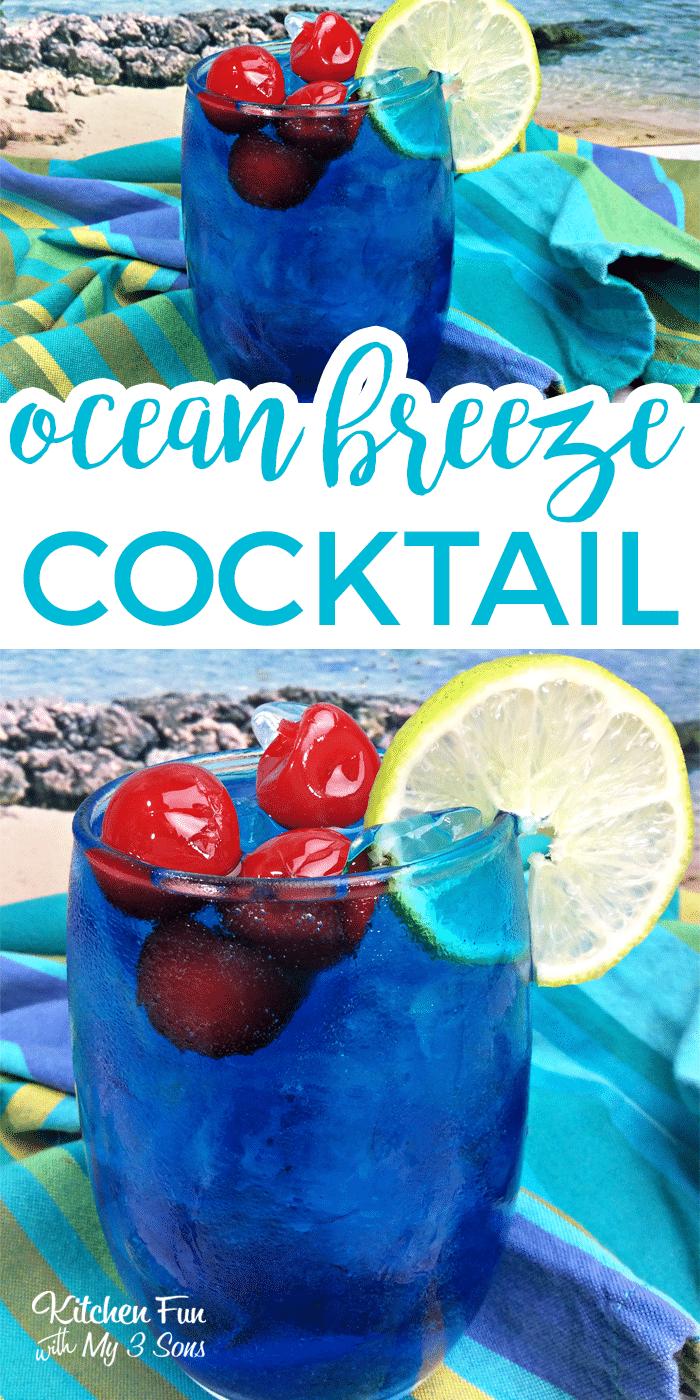 Ocean Breeze Cocktail
