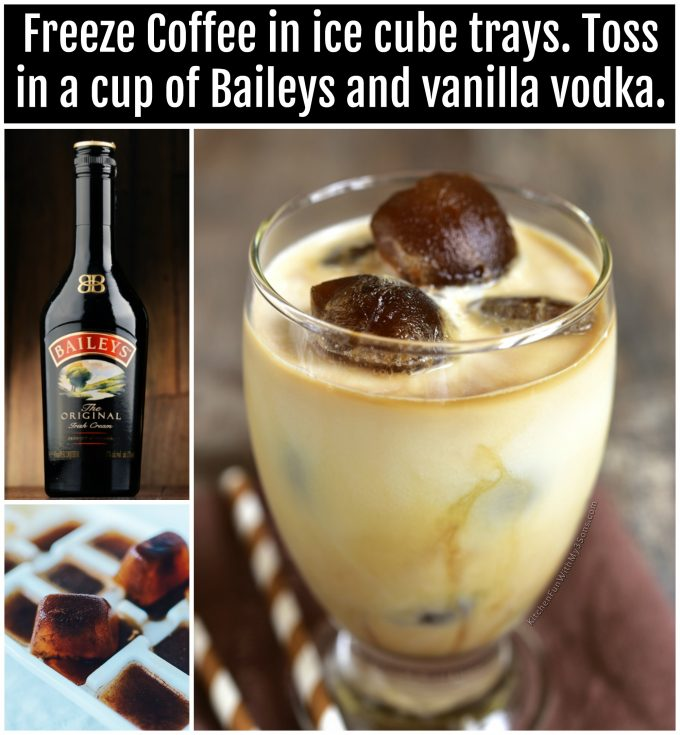 Baileys Vanilla Vodka Coffee Drink