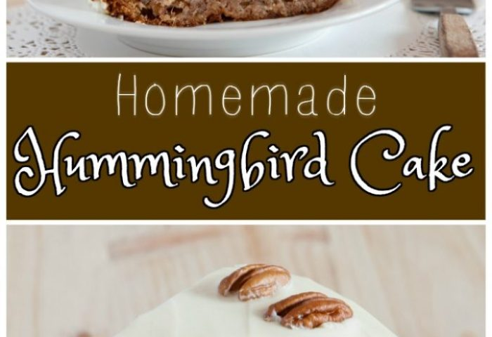 Homemade Hummingbird Cake Kitchen Fun With My 3 Sons